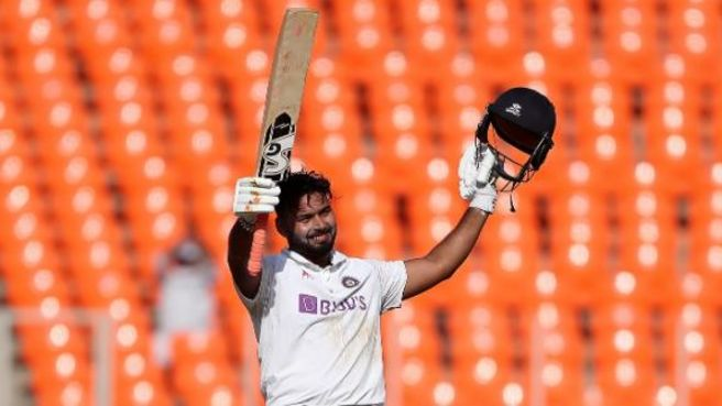 Pant hits first home Test century to lift India