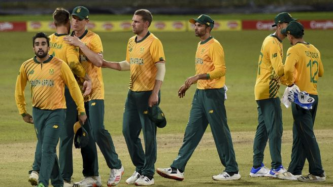 Congratulations all around for a job well done by South Africa