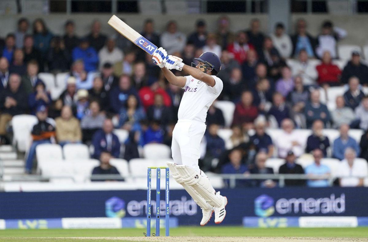 Rohit Sharma goes airborne to uppercut Ollie Robinson for a six |  ESPNcricinfo.com
