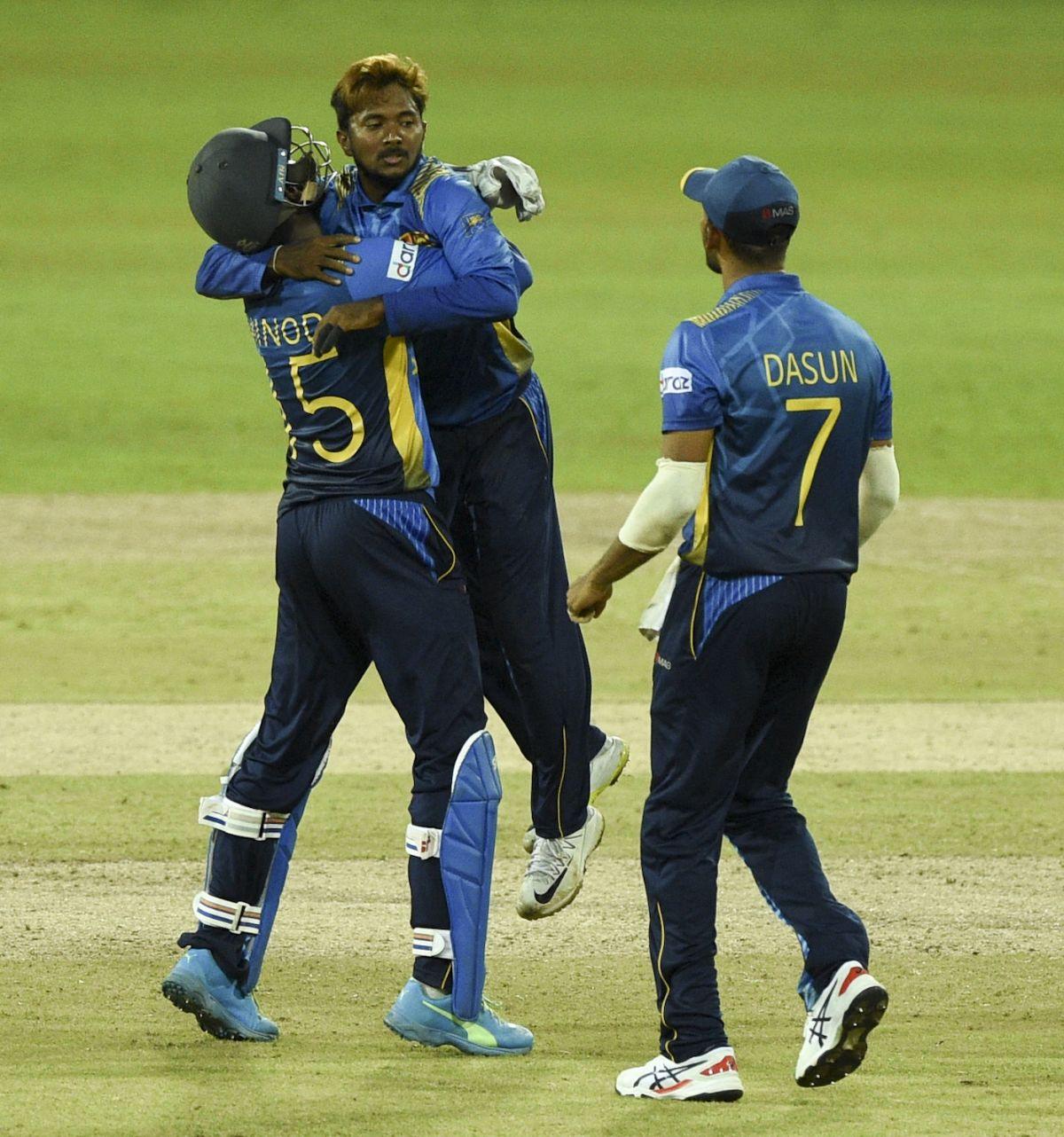 Akila Dananjaya struck a couple of crucial blows, Sri Lanka vs South Africa, 1st ODI, Colombo, September 2, 2021
