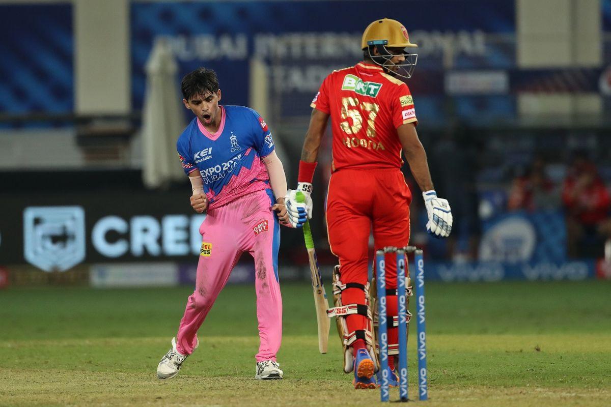 Kartik Tyagi helped Rajasthan Royals snatch victory, Punjab Kings vs Rajasthan Royals, IPL 2021, Dubai, September 21, 2021