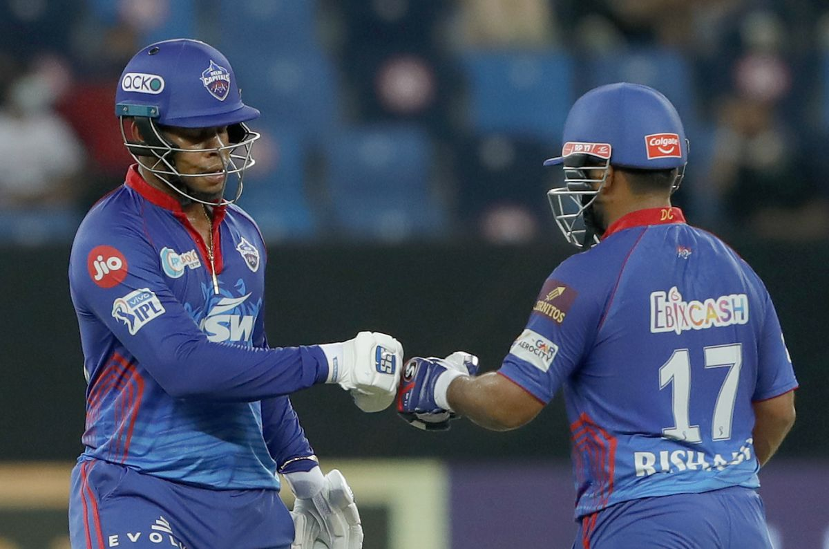 Shimron Hetmyer and Rishabh Pant added 83 for the fifth wicket, Delhi Capitals vs Chennai Super Kings, IPL 2021 Qualifier 1, Dubai, October 10, 2021