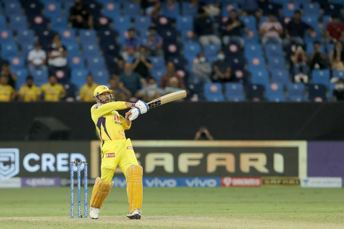 MS Dhoni goes for the big one, Delhi Capitals vs Chennai Super Kings, IPL 2021 Qualifier 1, Dubai, October 10, 2021