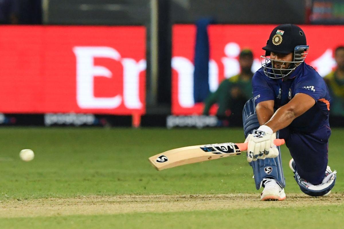 Rishabh Pant Sweeps AFP/Getty Images