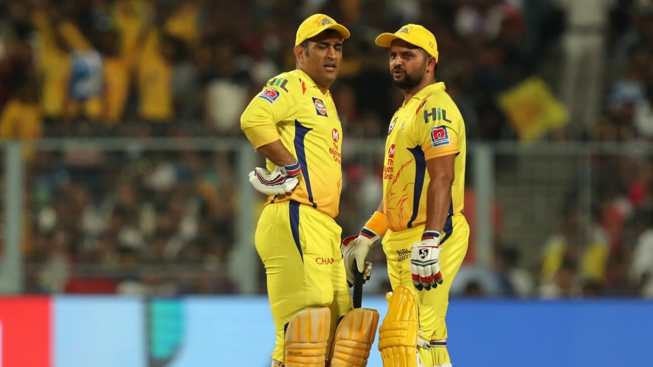 Suresh Raina reveals tears, hugs and party in CSK camp ...
