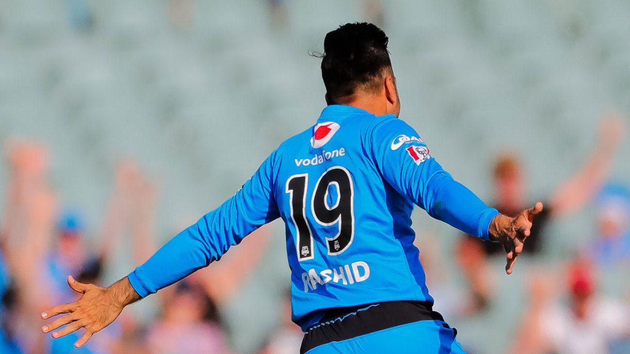 Rashid Khan makes Adelaide Strikers his home again