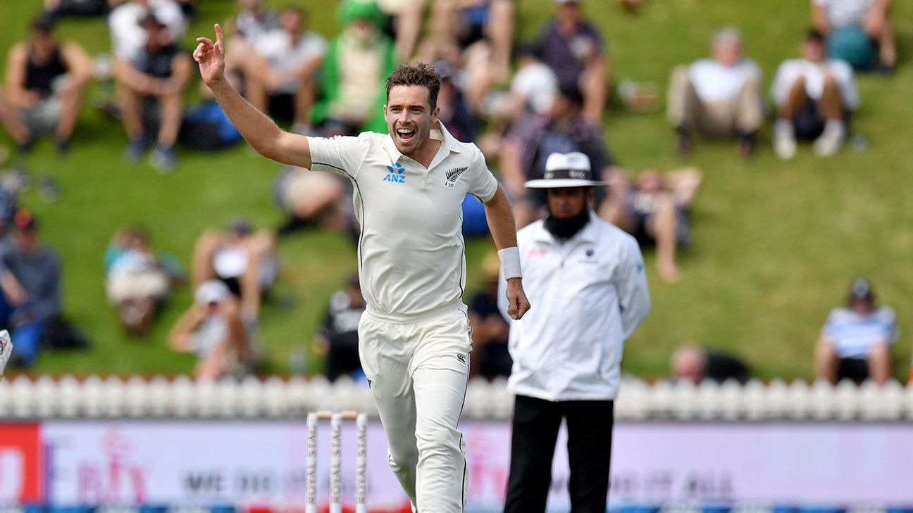 Tim Southee, Neil Wagner and Colin de Grandhomme on New Zealand injury list