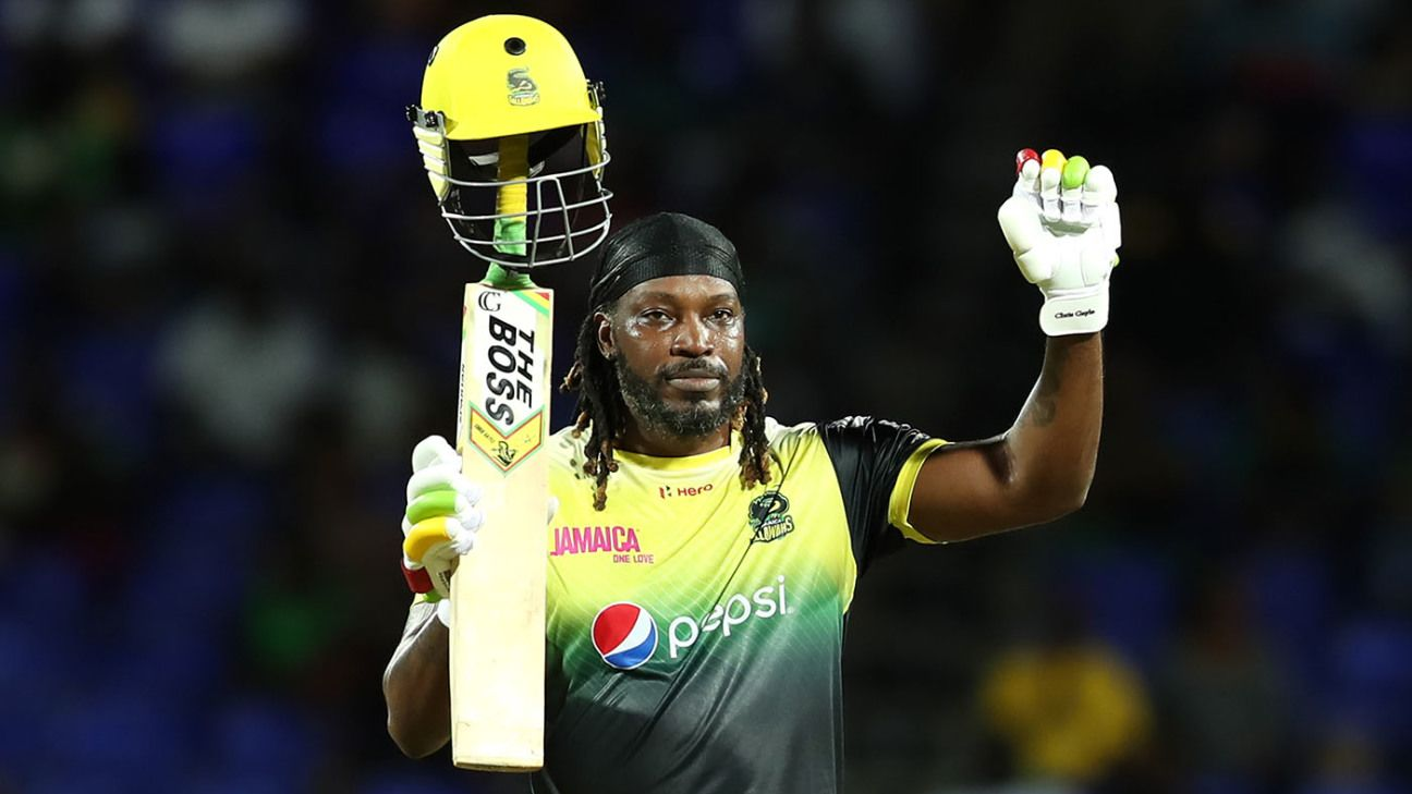 Chris Gayle released by Jamaica Tallawahs, joins St Lucia Zouks ...