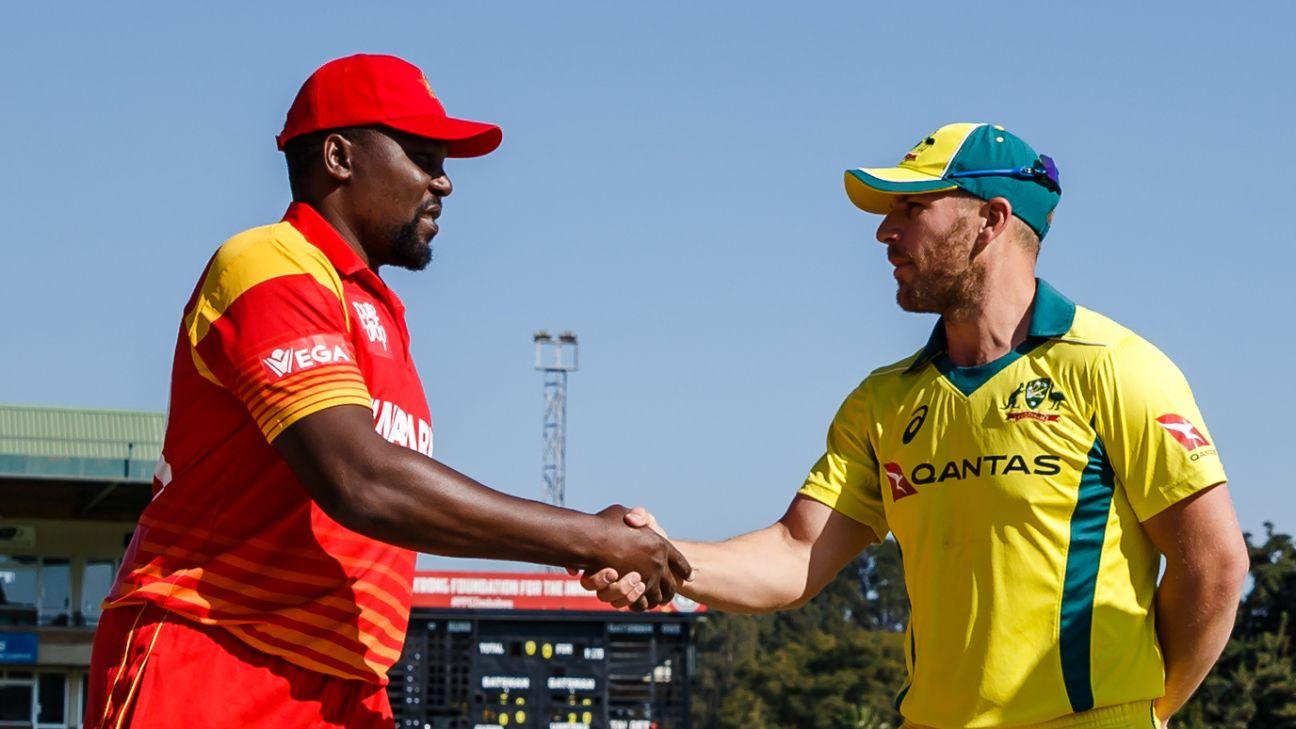 Zimbabwe's three-match ODI tour to Australia postponed