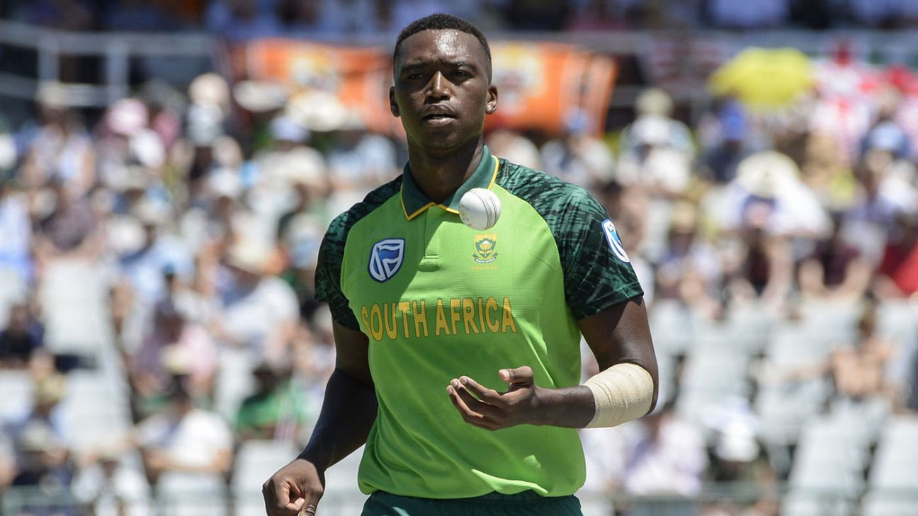 Ngidi says South Africa must take BLM stand like the rest of the world | ESPNcricinfo.com - ESPNcricinfo