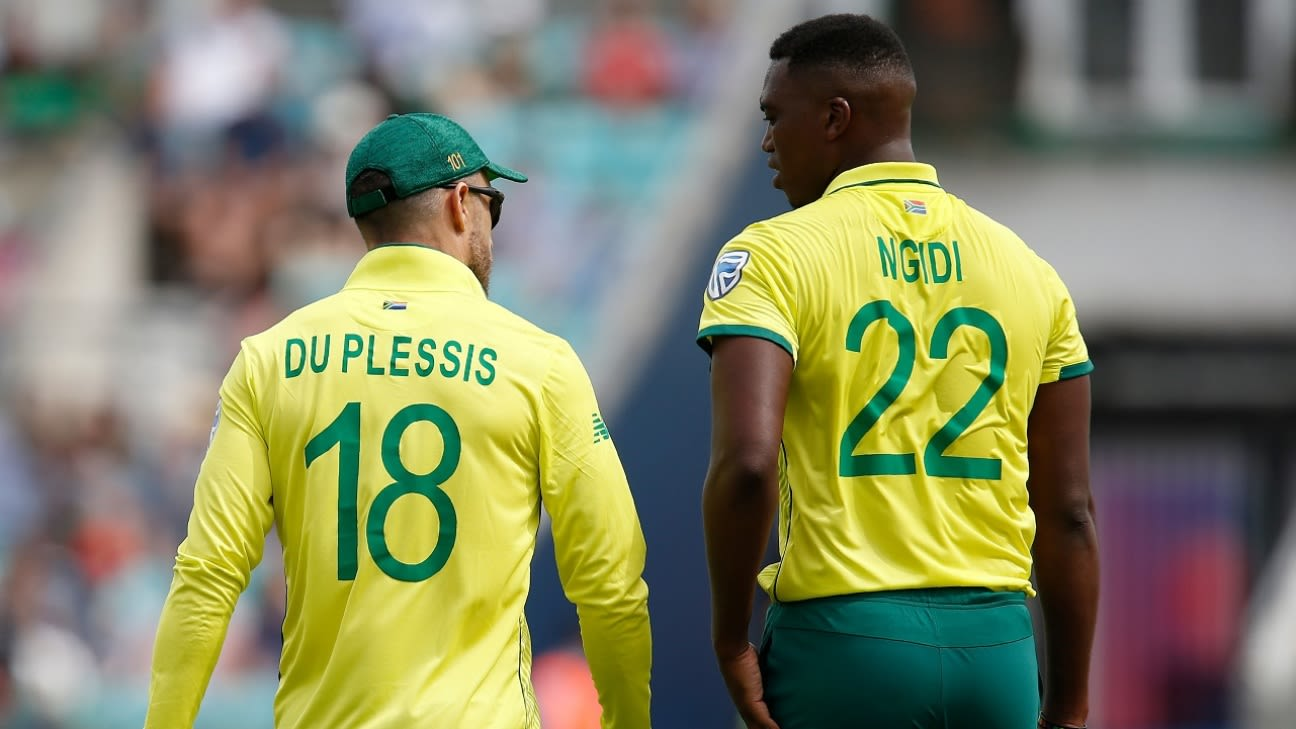 Faf du Plessis on racism in South African cricket: 'All lives don ...