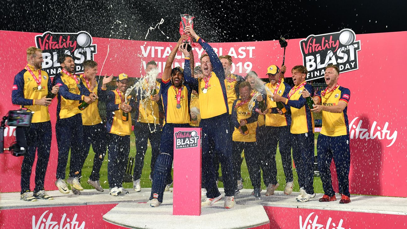 T20 Blast knockouts to be staged in October to boost chance of fans attending
