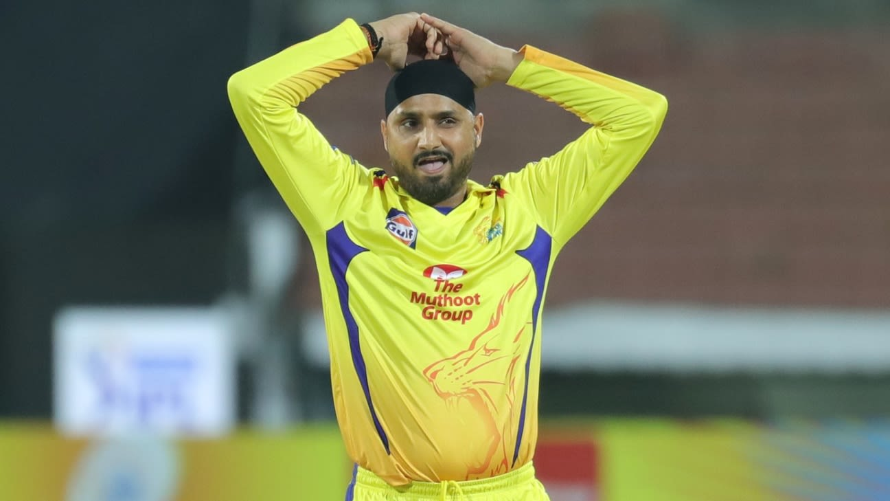 IPL 2020 - CSK's Harbhajan Singh opts out citing personal reasons