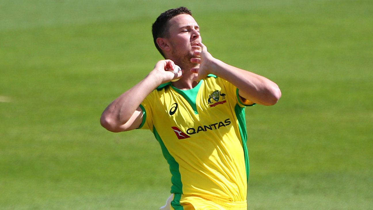 England v Australia - Josh Hazlewood will 'keep pushing' for chance to revive his T20I career
