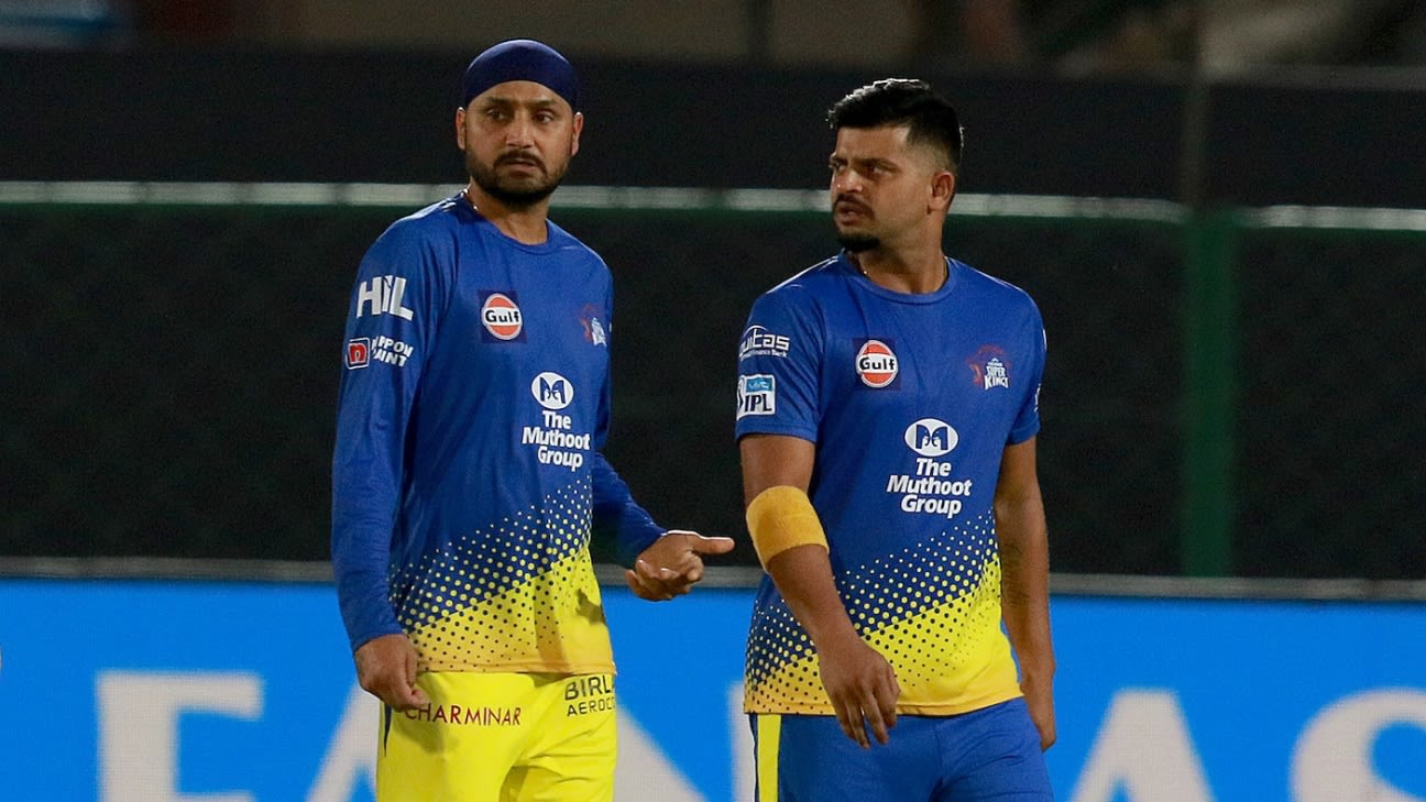 IPL 2020 - Who will fill in for Lasith Malinga, Suresh Raina and Harbhajan  Singh?