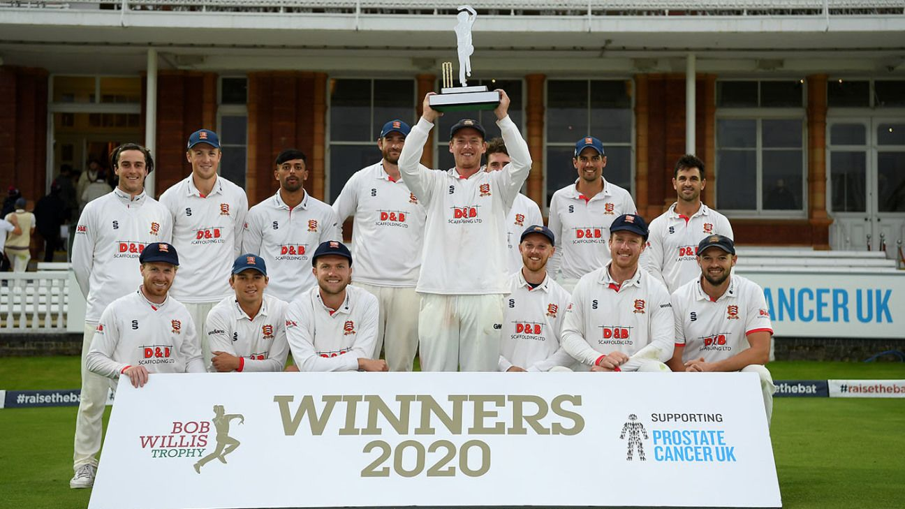 Ryan ten Doeschate digs in to seal another Essex title in Bob Willis Trophy final