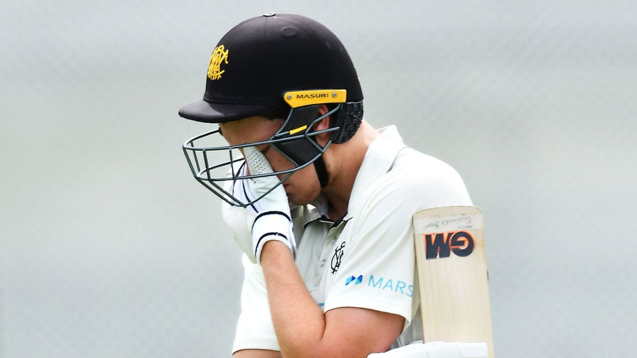 Cameron Green and Matthew Kelly fall short of milestones in bat-dominated draw