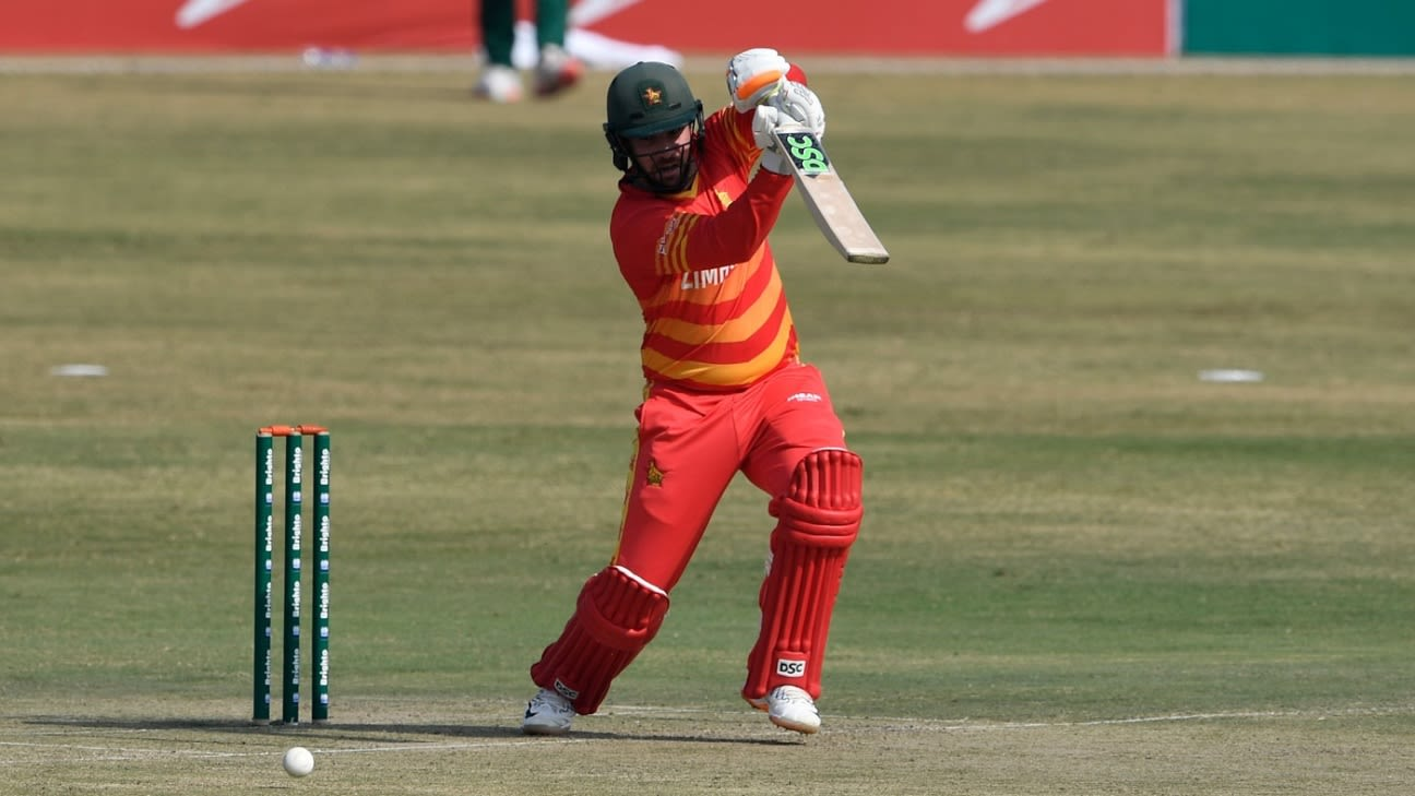 Current Match Report – Zimbabwe vs Pakistan 1st T20I 2020