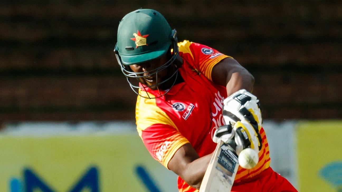 Zimbabwe's Elton Chigumbura to retire from international cricket after Pakistan series