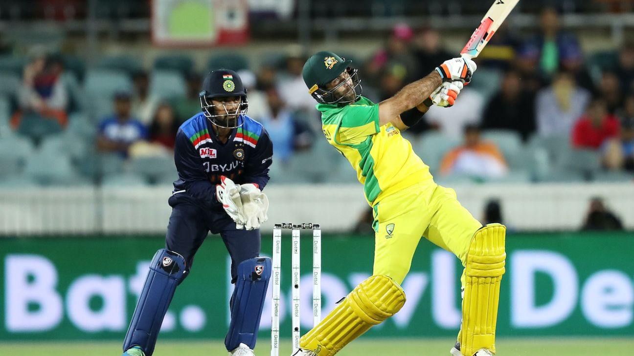 Australia vs India, India tour of Australia 2020, 1st T20I