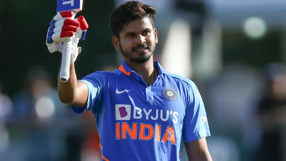 Shreyas Iyer hits maiden international century