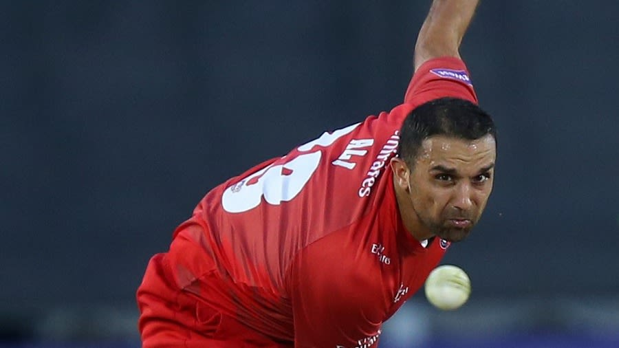 Kabir Ali was forced to retire due to a shoulder injury Getty Images