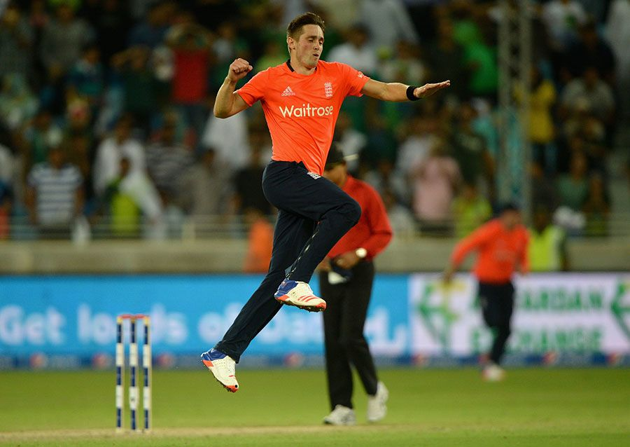 Chris Woakes last played a T20I for England against Pakistan in 2015-16 Getty Images