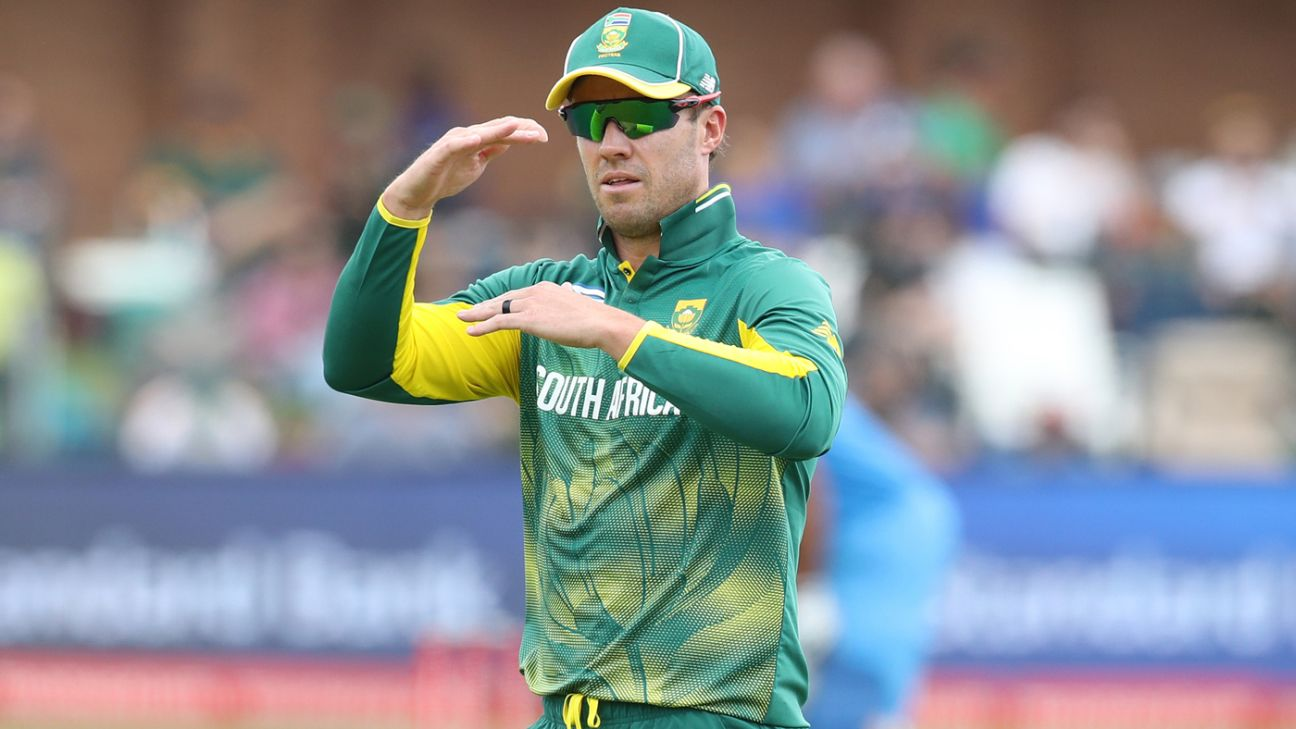 South Africa cricket - AB de Villiers decides 'his retirement will remain  final' - CSA