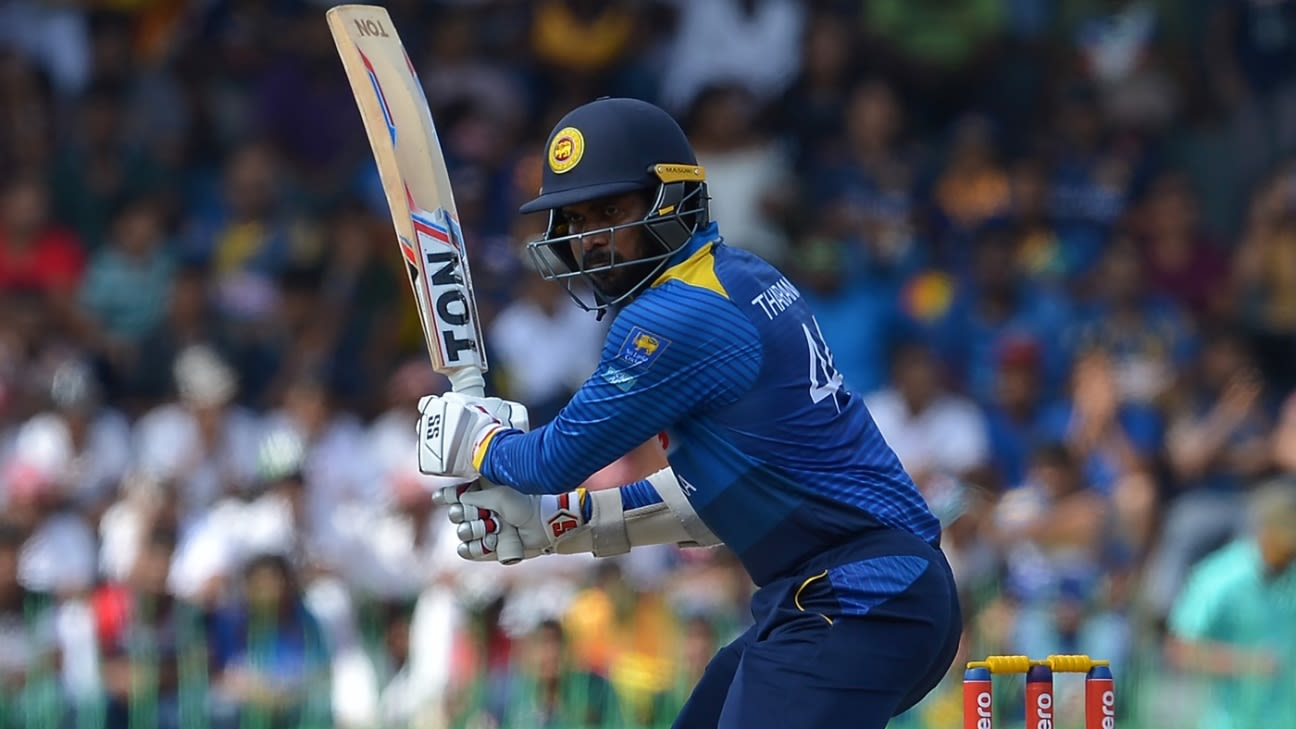 Former Sri Lanka's  batsman Upul Tharanga retires from international cricket