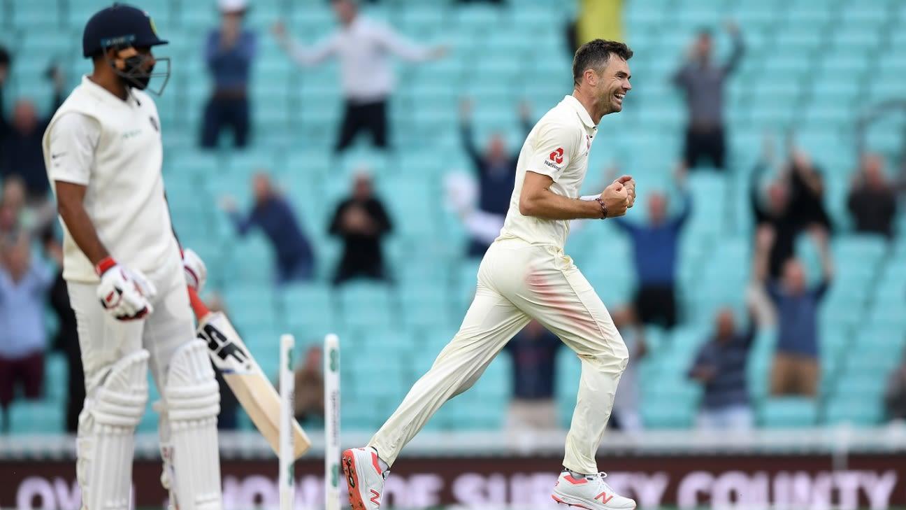 Full Scorecard of England vs India 5th Test 2018 - Score Report   ESPNcricinfo.com