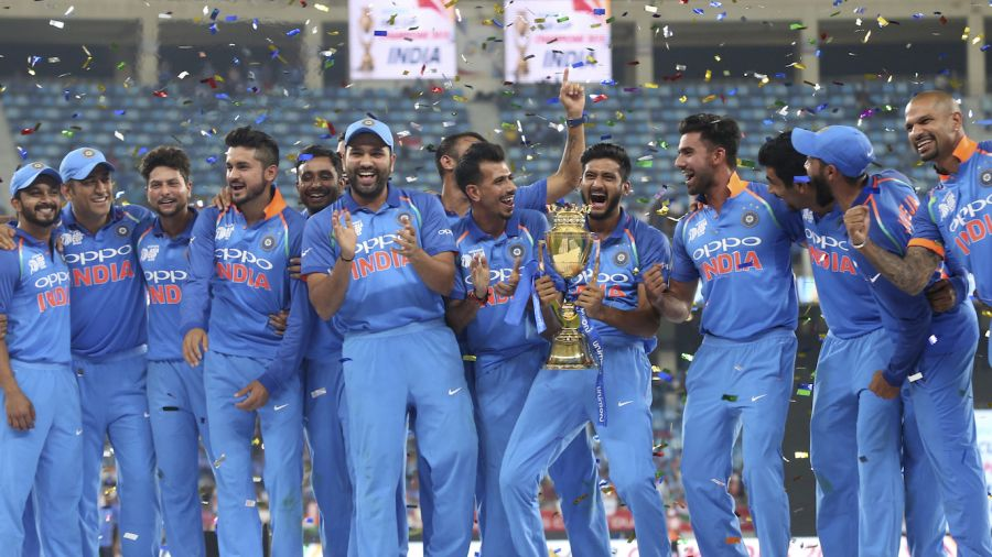 Rohit Sharma led India to their Asia Cup crown in 2018 Associated Press