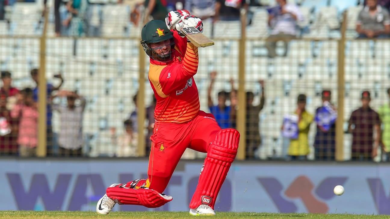 Brendan Taylor - Zimbabwe second highest run-getter in ODIs