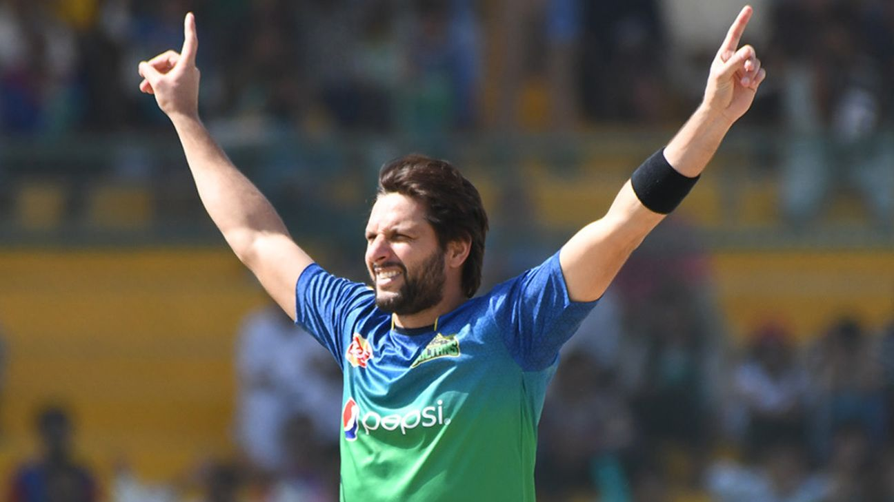 LPL 2020 - Shahid Afridi to end his quarantine early, cleared to play Galle  Gladiators' opening game