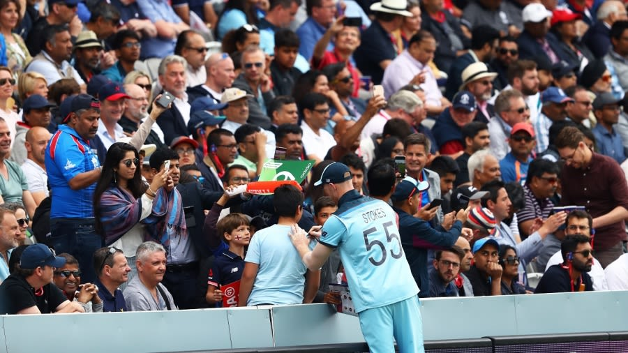 Lords will host a full-capacity ODI for the first time since the 2019 World Cup final Getty Images