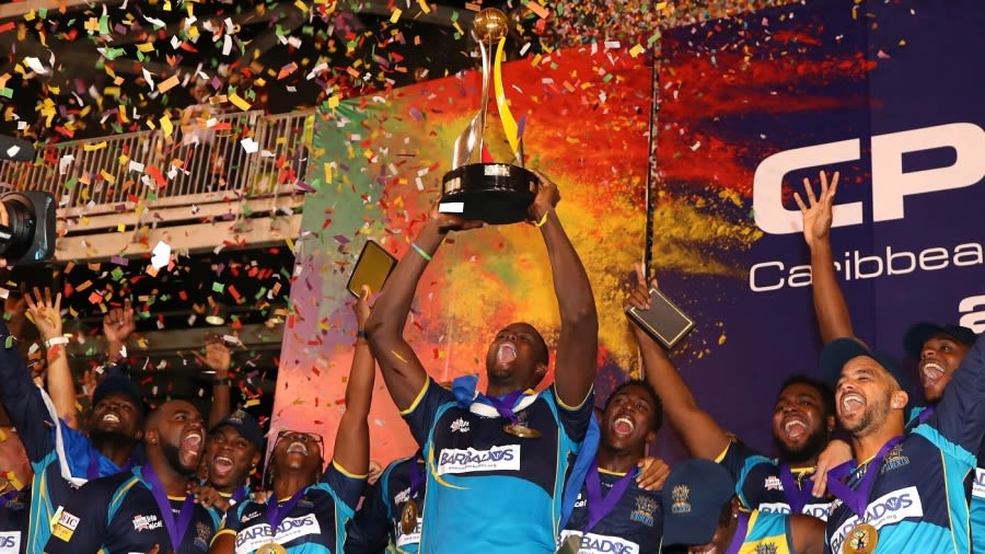 The Barbados Tridents won their second CPL title in 2019 Getty Images