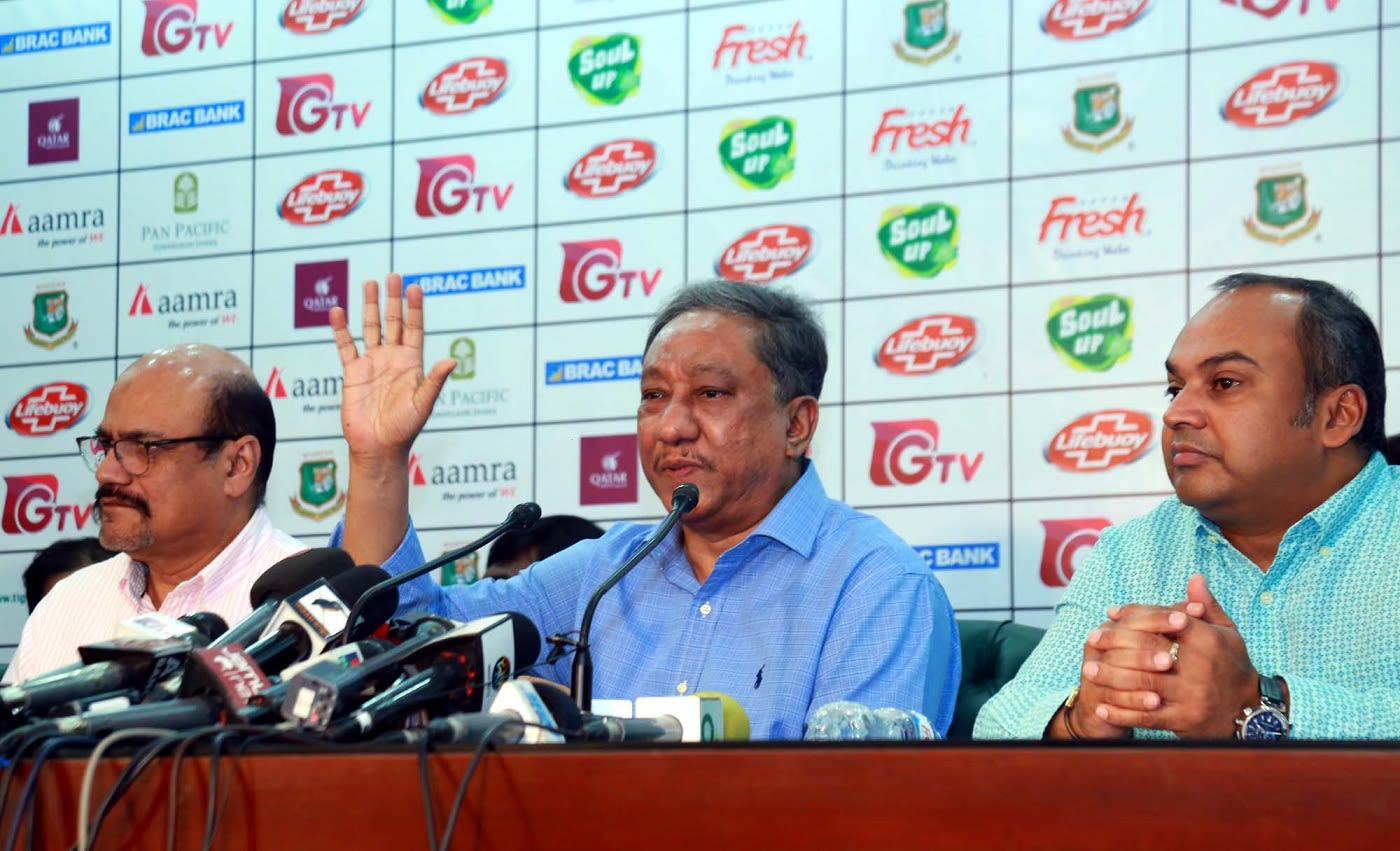 BCB chief Nazmul Hassan slams Mominul Haque and Russell Domingo after West Indies series defeat