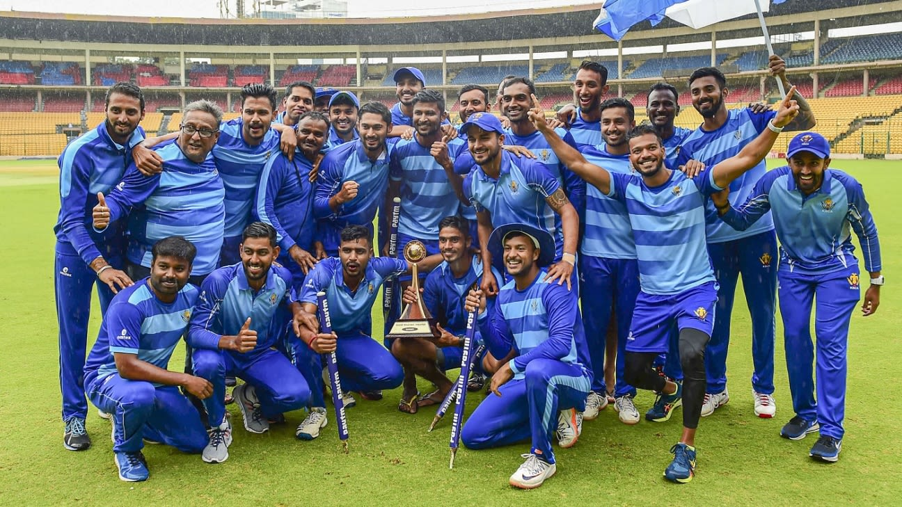 Vijay Hazare Trophy 2020-21 to take place between February 20 and March 14 - ESPNcricinfo
