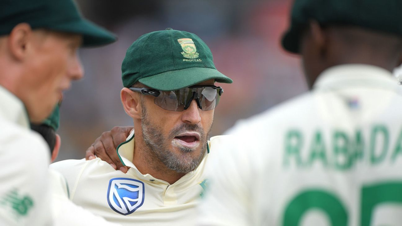 'Time is right to walk into a new chapter' - Faf du Plessis retires from Test cricket - ESPNcricinfo