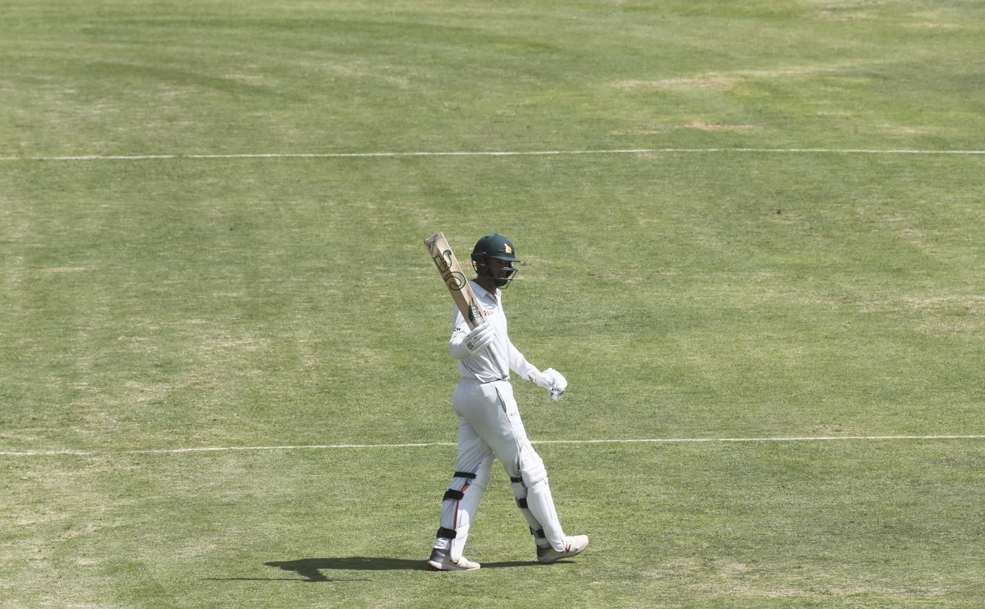 Afghanistan vs Zimbabwe 2021 1st Test – Sean Williams