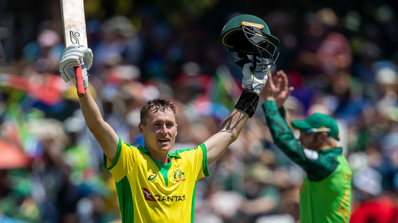 Marnus Labuschagne Proud To Put On A Family Show With Maiden Odi Hundred