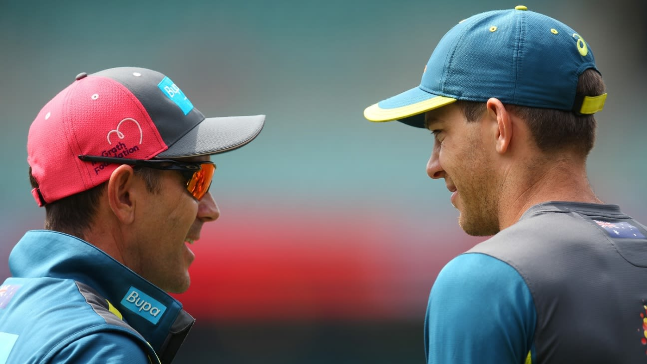 Australia players '100% behind' head coach Justin Langer, says Tim Paine