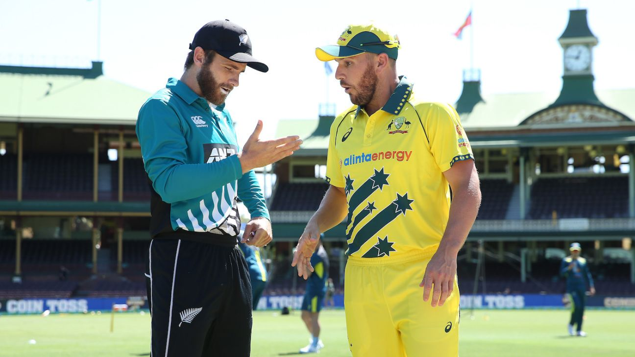 Aaron Finch: New Zealand T20Is a fact-finding mission - ESPNcricinfo