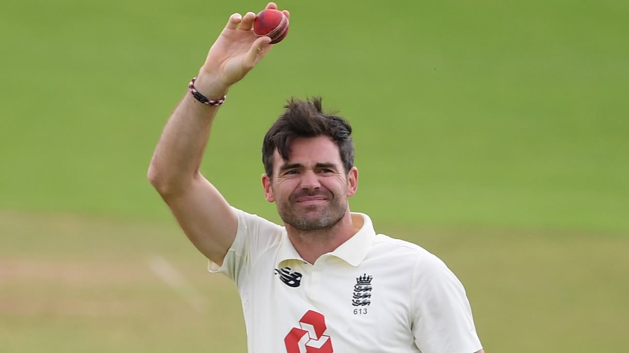 Stats: James Anderson 600 wickets - ageless, and a champion in home  conditions