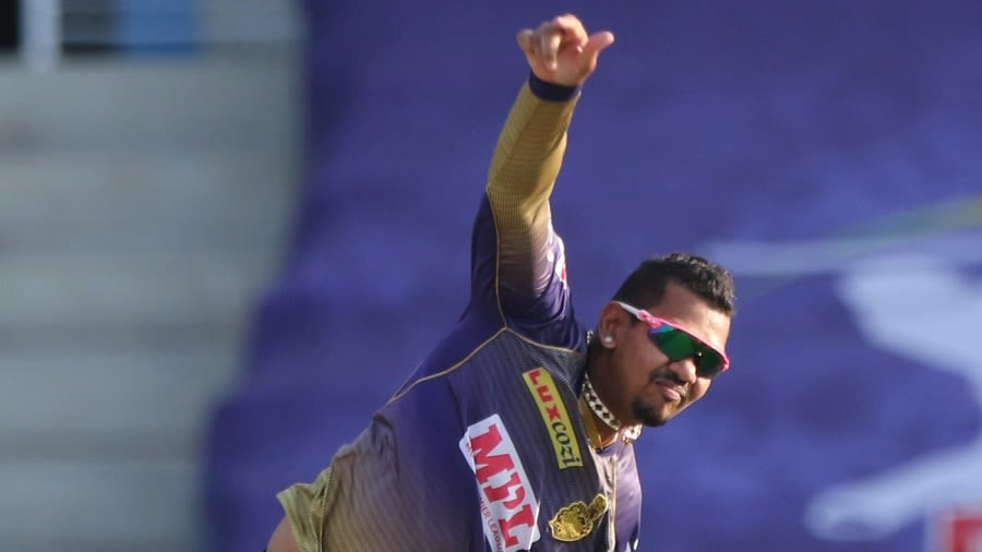 KXIP vs KKR - IPL 2020 - Sunil Narine reported for suspect action again,  placed in 'warning list'