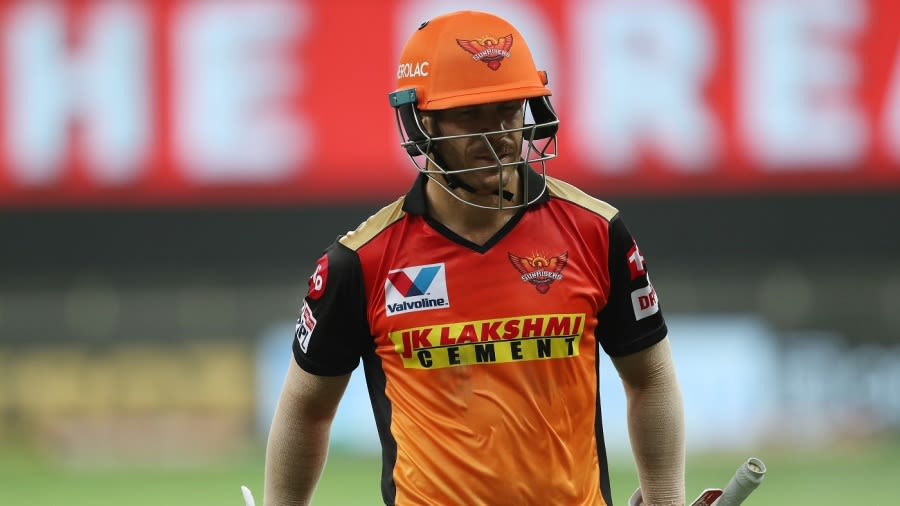 KXIP vs SRH - IPL 2020 - David Warner disappointed with Sunrisers 'complacency' in middle overs