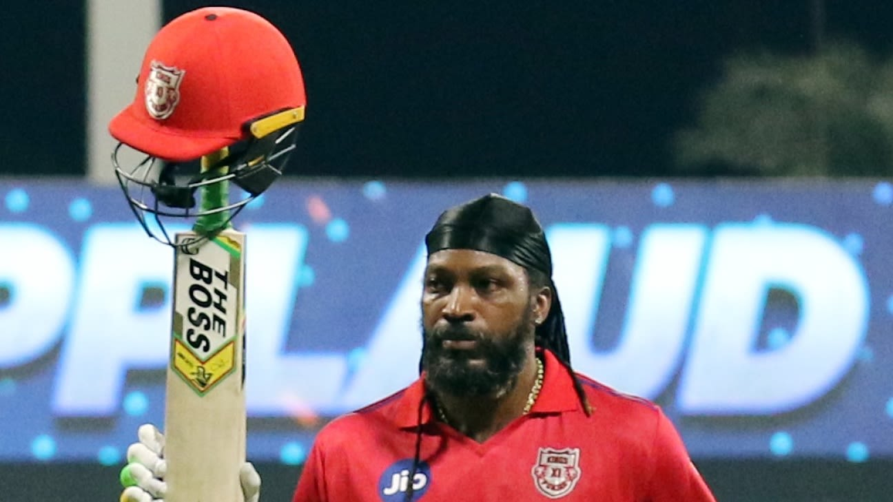 Chris Gayle, Fidel Edwards recalled to West Indies' T20I squad - ESPNcricinfo
