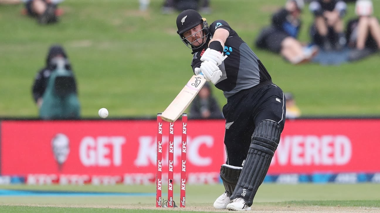 Martin Guptill to undergo fitness test ahead of Australia T20Is; Finn Allen called up as cover - ESPNcricinfo
