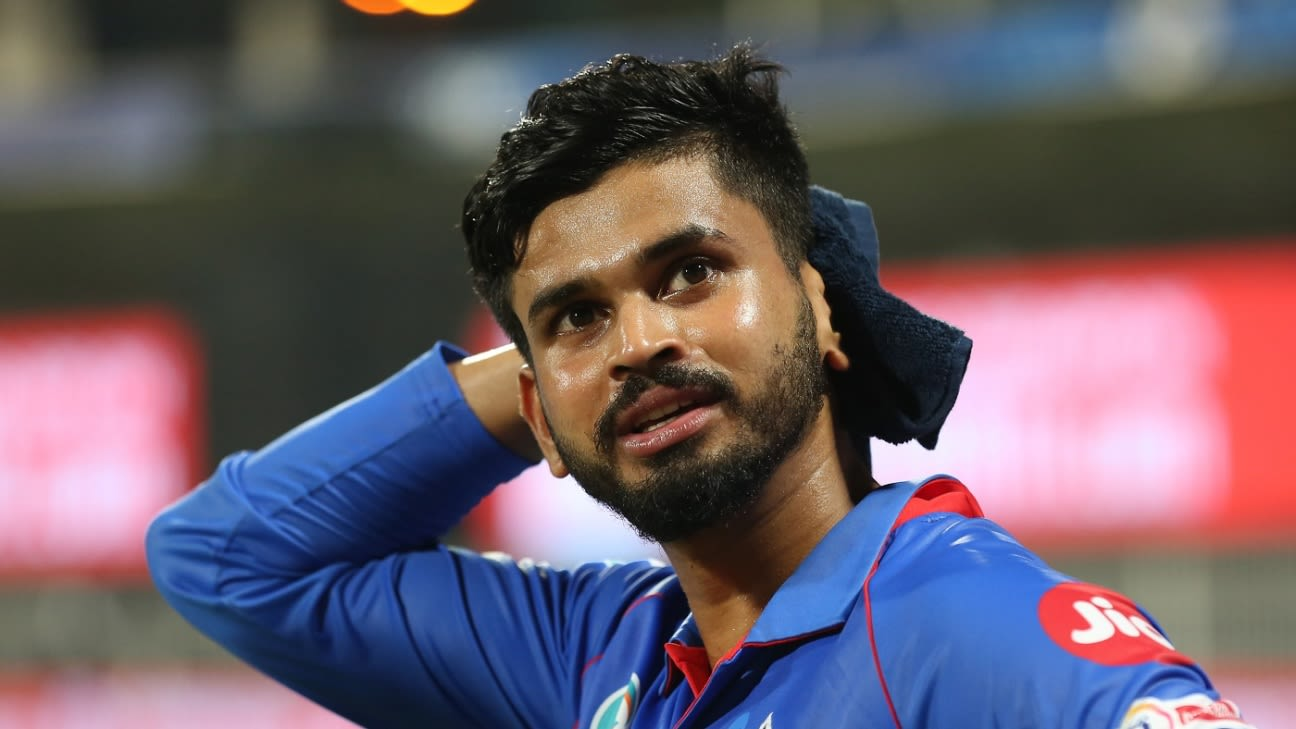 Shreyas Iyer set to be out of IPL 2021 with shoulder injury - ESPNcricinfo.com