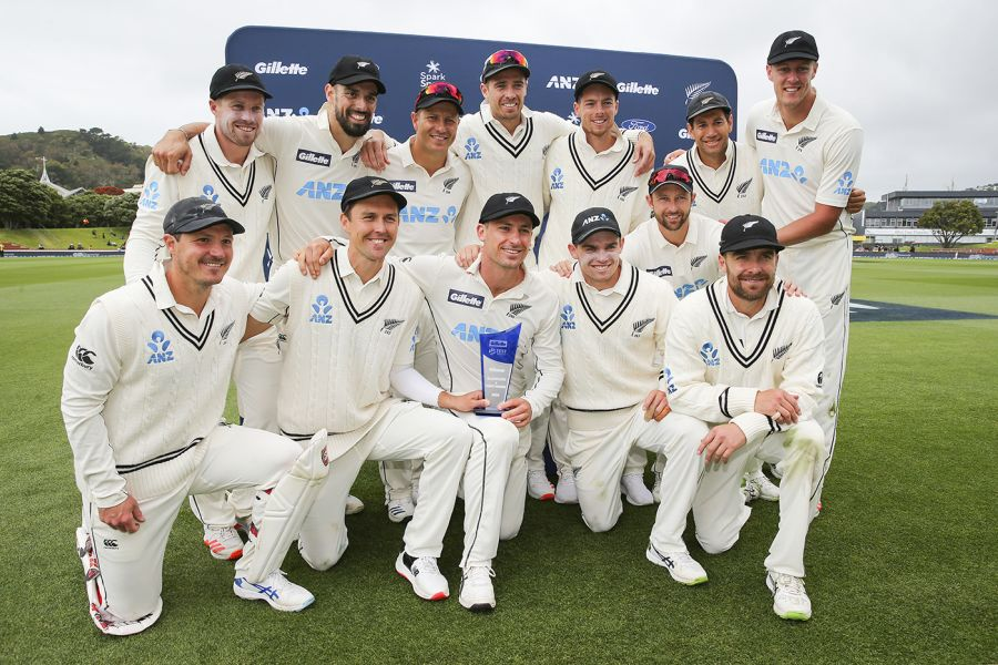New Zealand Test team
