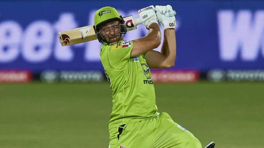 Daniel Sams has brought huge power to the Thunder's middle order Cricket Australia via Getty Images